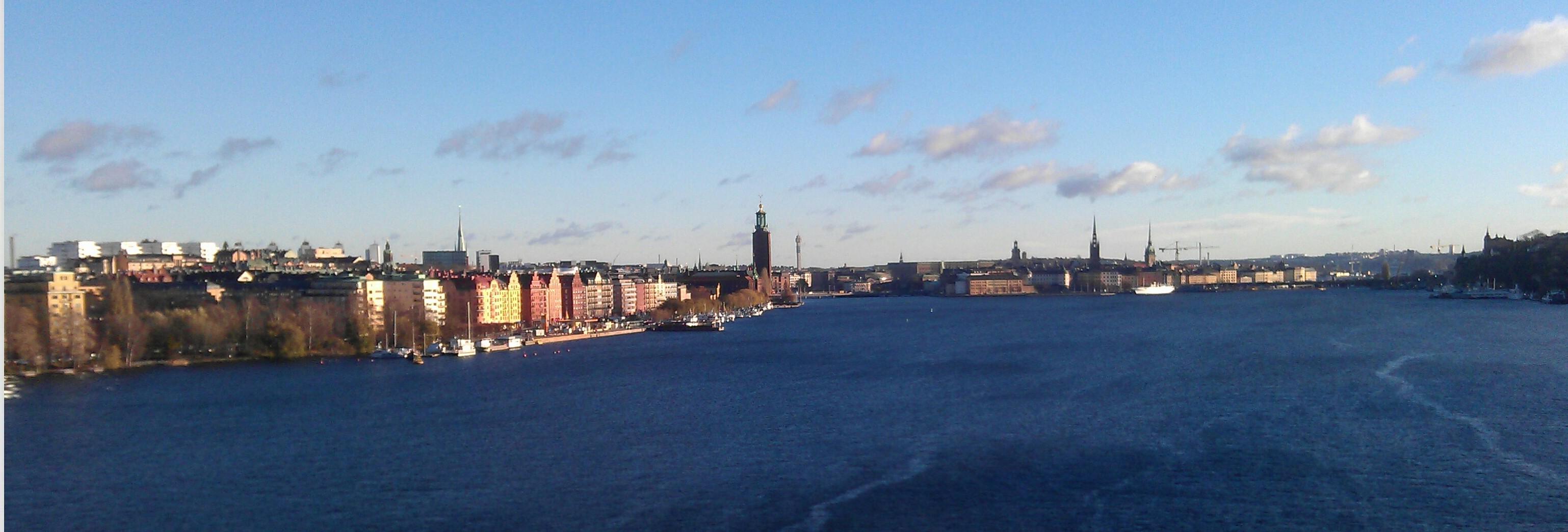 Utsikt från Västerbron