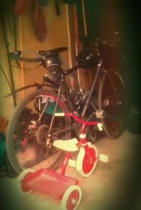 Cykelparkering för memil och föbif